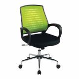 Carousel- Mesh Back Operator'S Chair - Green