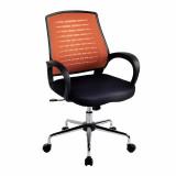 Carousel- Mesh Back Operator'S Chair - Orange