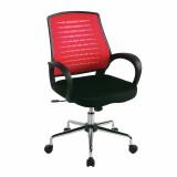 Carousel- Mesh Back Operator'S Chair - Raspberry