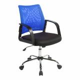 Calypso- Mesh Back Task Operator Armchair - Blue