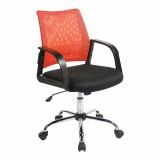Calypso- Mesh Back Task Operator Armchair - Orange