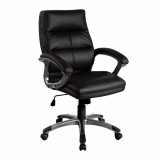 Greenwich- Pu Managers Chair- Black