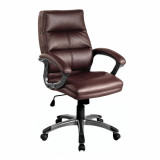 Greenwich- Pu Managers Chair- Burgundy