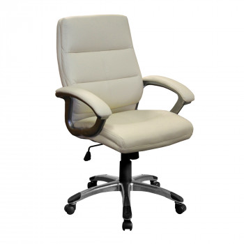 Greenwich- Pu Managers Chair- Cream