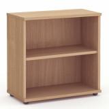 Book Case - 800mm - 1 Shelf - Beech