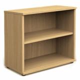 Book Case - 800mm - 1 Shelf - Oak